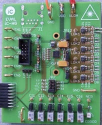 iC-HG EVAL HG1D Evaluation Board